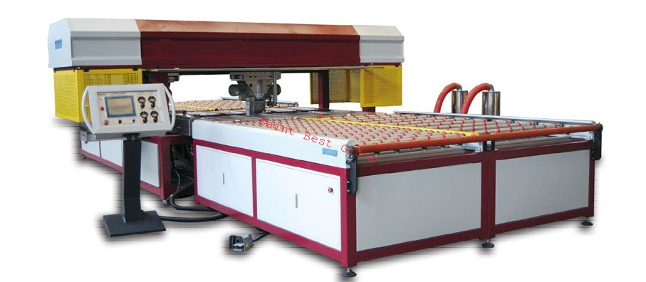 Four Side Glass Seaming Machine