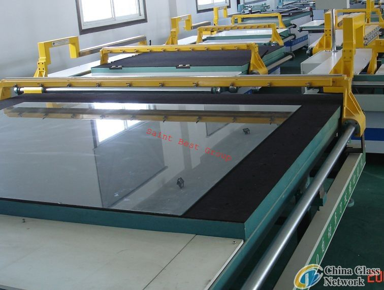 Semi-Automatic Glass Cutting Line