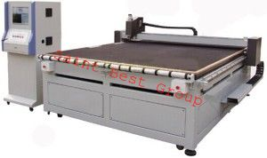 Automatic CNC Shaped Construction Glass Cutting Table