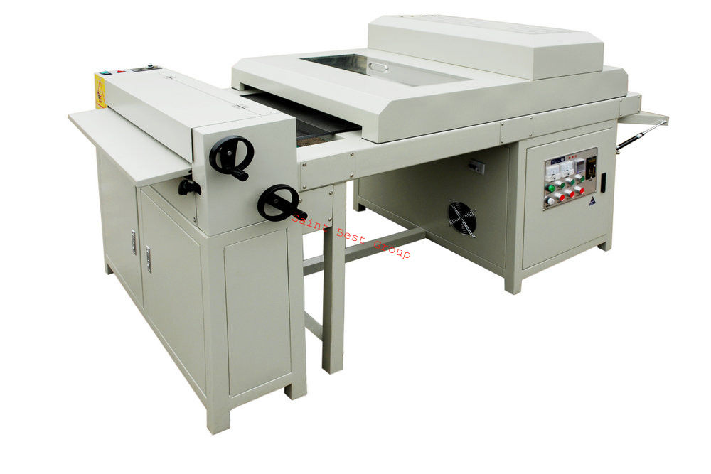SINGLE TEXTURE ROLLER HOT UV COATING MACHINE