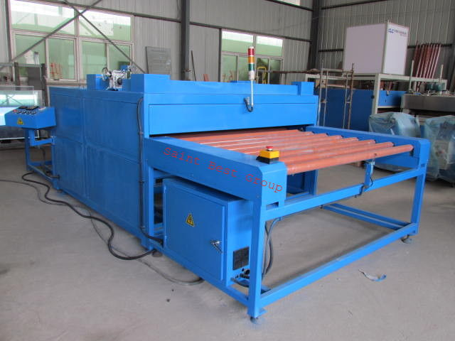 Flexible Spacer IG Heated Roller Press