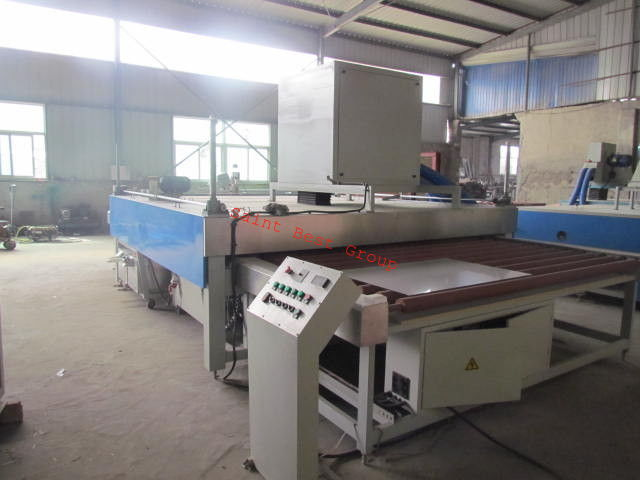 Horizontal Automatic Glass Cleaning Machine