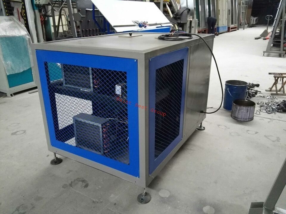 Cooler for Thiokol Extruder