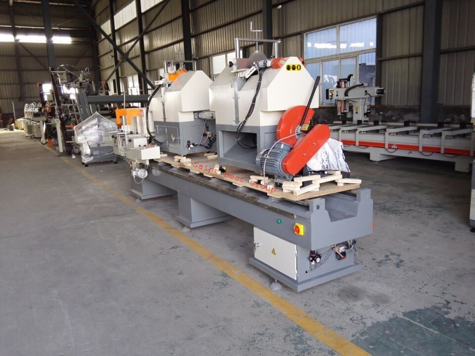 Double Mitre Cutting Machine for UPVC Profile