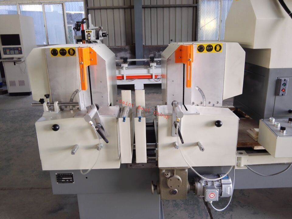 PVC Door Dual Head Cutting Machine