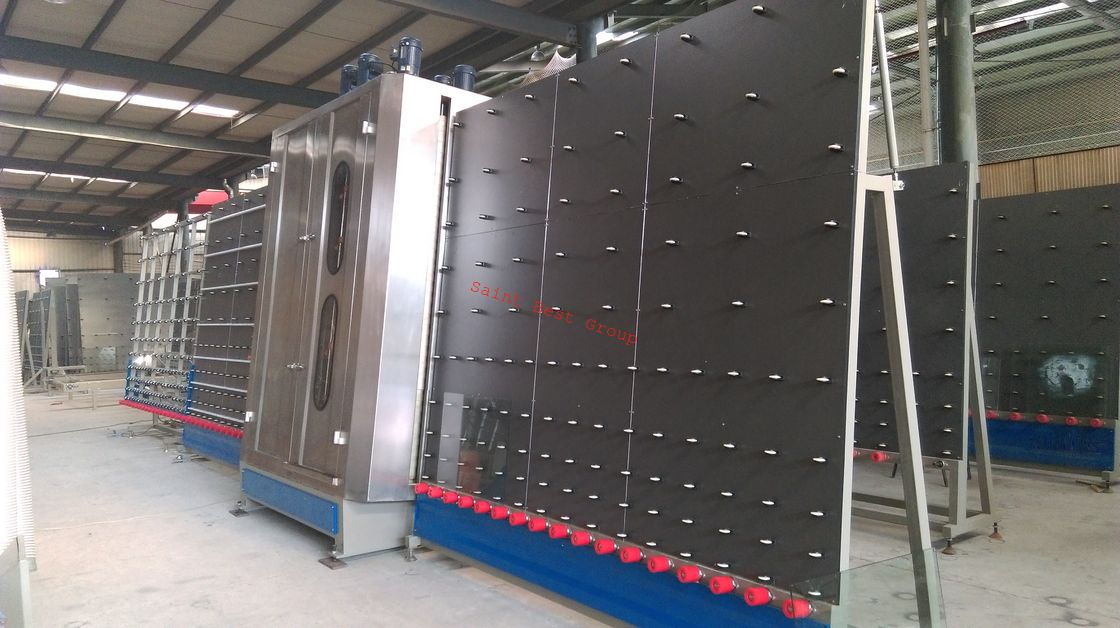 2500mm Automatic Flat Glass Washer with Tliting Table