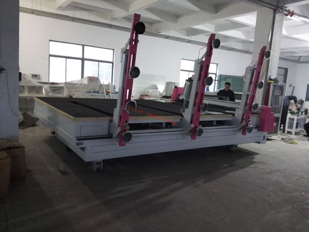 CNC Automatic Glass Cutting Machine with Automatic Glass Loading