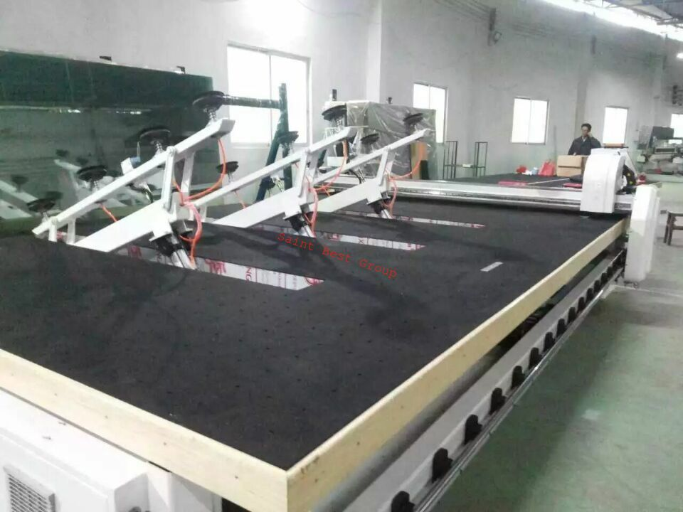 CNC Glass Cutting Table with Automatic Glass Loading&Breaking