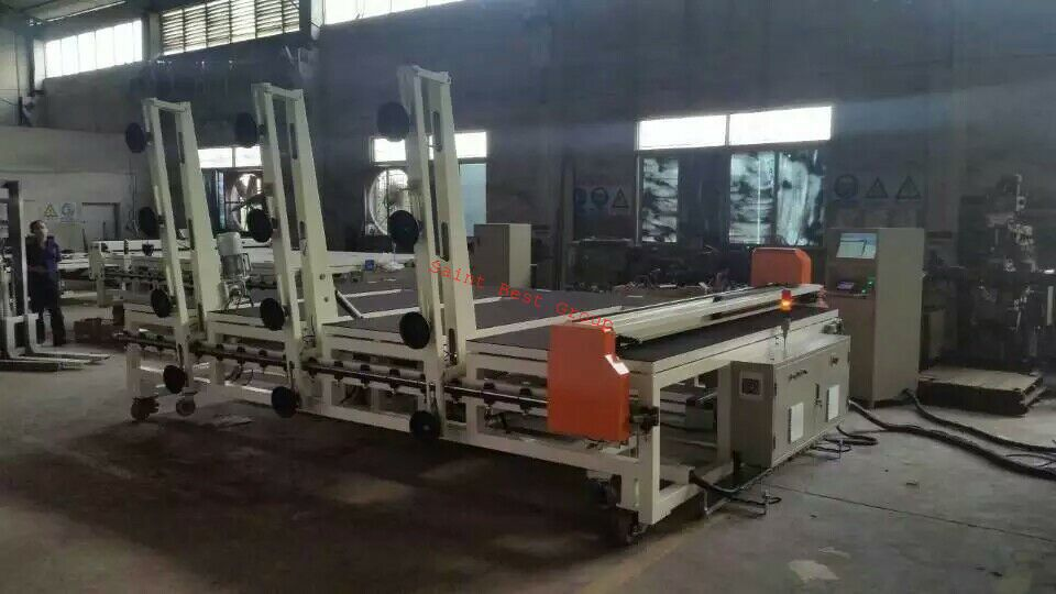 Automatic CNC Glass Cutting Machine with Automatic Glass Loading&Breaking