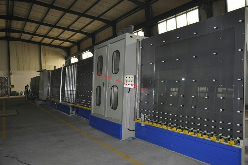 Fully Automatic IGU Assembly and Pressing Line with Online Gas Filling,Automatic IGU Line,Insulating Glass Machine