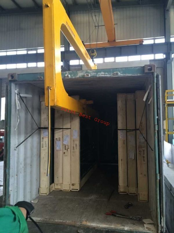 U Shape Container Unloading Crane C Clamp For Glass