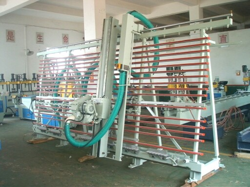 Vertical Aluminum Composite Panel Grooving Machine