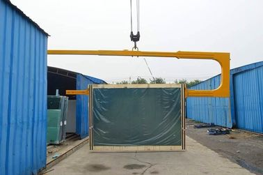 China Container C Shape Glass Lifting Arm distributor
