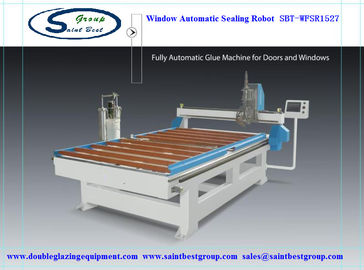 China Automatic Window Sealing Machine,Window Frame Automatic Sealing Robot,Window Automatic Sealing Machine distributor